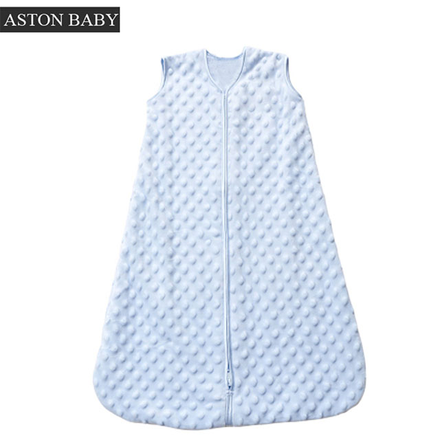 2.5 Tog Bubble Soft Plush Baby Sleeping Bag