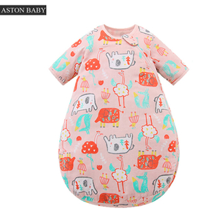 0.5 tog muslin long sleeve summer baby sleep sack