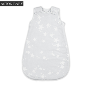 0.5tog sleeveless muslin summer sleeping bag baby