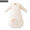 1.0 tog long sleeve / short sleeve knitting pattern animal print baby sleeping bag