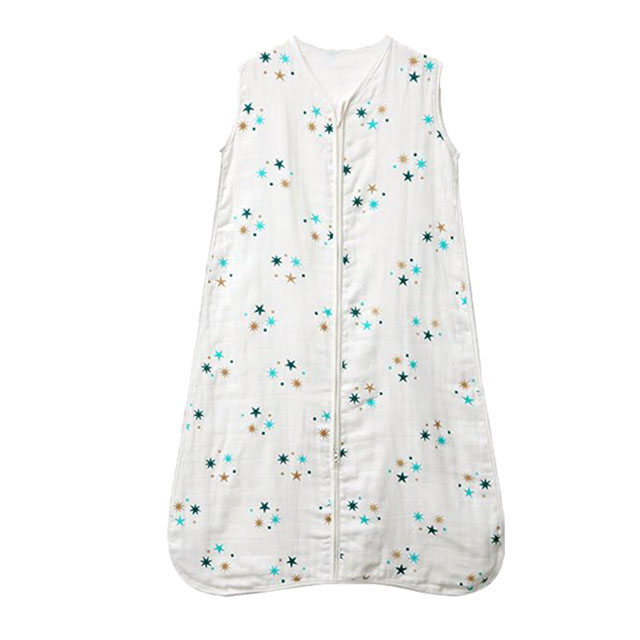 0.5 Tog Muslin Sleeveless Baby Sleeping Sack