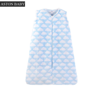 2.5 Tog Flannel Fleece Sleeveless Baby Sleeping Sack